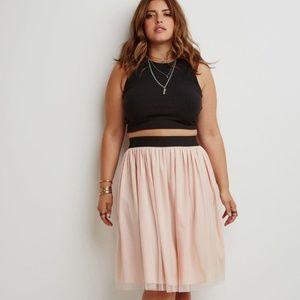 Forever 21 tulle skirt